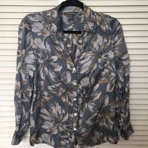 Tommy Bahama women's silk floral blouse